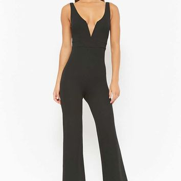 Textured Cami Jumpsuit