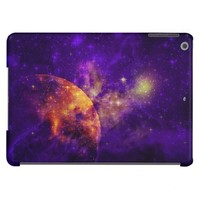 Amethyst Sky, Golden Planet n Nebula iPad Air Cover For iPad Air