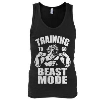 Super Saiyan - Training to go beast mode - Unisex Tank Top - SSID2016