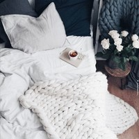 fashion, indie och bed bild på We Heart It