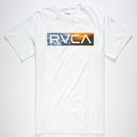Rvca Polar Opposites Mens T-Shirt White  In Sizes