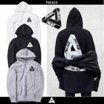 Lovers Men's Triangle Printed Hoodies PALACE Sweatshirts Causal Hip Hop Cool Brand Designer Men Jesus Angel Cotton Hoodie Shirts