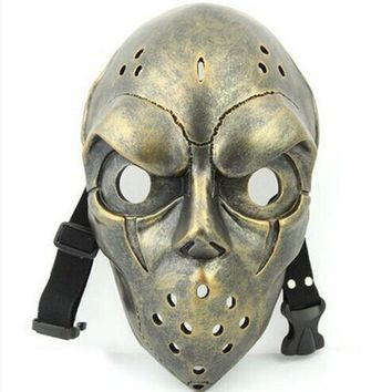Resin Mask Scary Masks Halloween Cosplay Accessories Scarey Movie Mask Ice Hockey Masquerade Party Supplies Head Decoration - Beauty Ticks