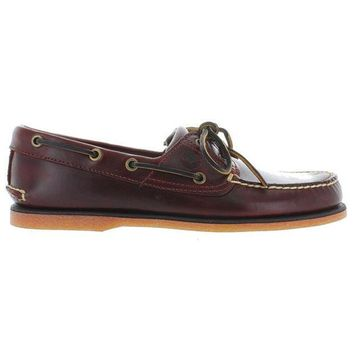 CREYONIG Timberland Earthkeepers Classic 2-Eye - Rootbeer Leather Boat Shoe