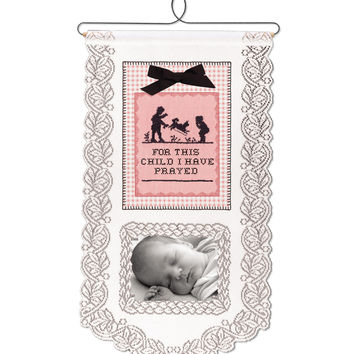 For This Girl Wall Hanging, White
