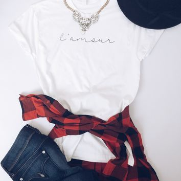 L'amour tee