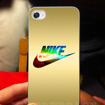 colorful nike gold nike case for galaxy s3,galaxy s4, iphone 4/4s case, iphone 5 case, iphone 5s case, iphone 5c case