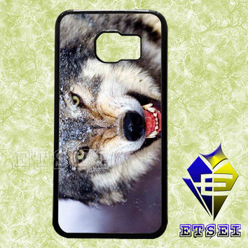 wolf 2345 case For Samsung Galaxy S3/S4/S5/S6 Regular/S6 Edge and Samsung Note 3/Note 4 case
