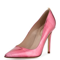 Fawn Metallic Point-Toe Pump, Glass Pink - SJP by Sarah Jessica Parker - Glass pink