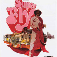 Super Fly Movie Poster 24x36