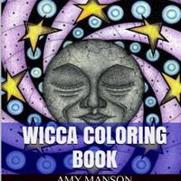 Wicca Coloring Book: Wicca Adult Coloring Book