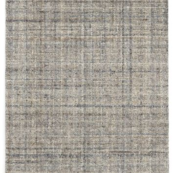 Harris Blue Micro Hooked Wool Rug