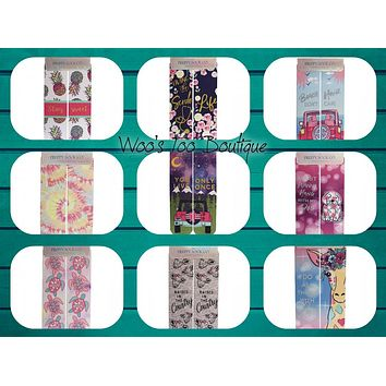 Graphic Long Socks - Adult - SS