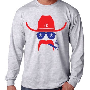 Smokin' Texan Long Sleeve Tee