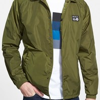 Men's RVCA 'ANP' Nylon Coach Jacket,