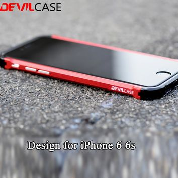 DEVILCASE New TYPE X For iPhone 6 6s All Aluminum Hybrid Metal Bumper Frame