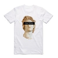 Vaporwave Awesome T-shirt Short Sleeve Streetwear