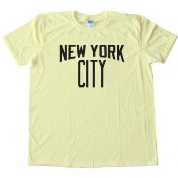 New York City John Lennon Style Custom Men's Gildan Adult T-Shirt