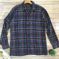 Vintage Cotton Oversized Flannel