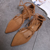 Women Pointed Flats Shoes