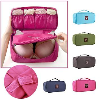 Travel Toiletry Kit Necessaries Necessaire For Women Make Up Makeup Cosmetic Bag In Organizer Beauty Dressing Case Pouch Vanity