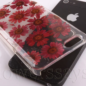 iPhone 6 case iPhone 6 plus Pressed Flower, iPhone 5/5s case, iPhone 4/4s case, 5c case Galaxy S4 S5 Note 2 note 3 Real Flower case NO:F412