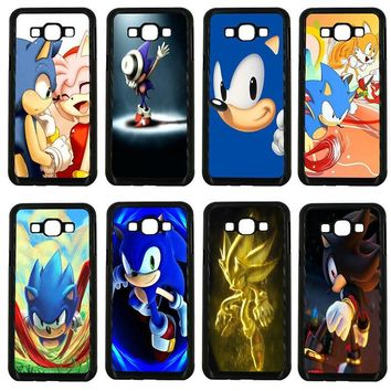 Mobile Phone Cases Sonic the Hedgehog Series Hard Palstic Cover for Samsung Galaxy J1 J2 J3 J5 J7 2015 2016 2017 ON Prime Shell