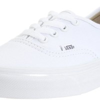 Vans VANS AUTHENTIC SKATE SHOES 7 (TRUE WHITE)