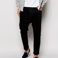 ASOS | ASOS Cropped Drop Crotch Jeans at ASOS