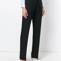 Victoria Beckham Straight Tailored Trousers - Farfetch