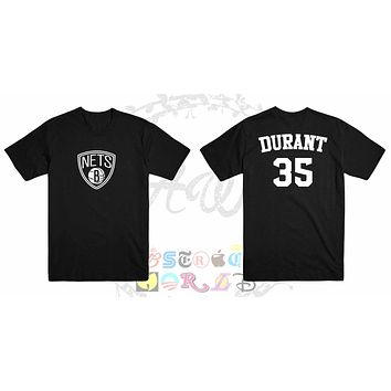Kevin Durant Brooklyn Nets Jersey Adult Unisex Tee T Shirt
