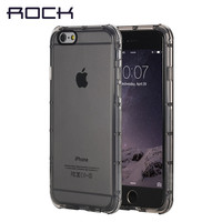 ROCK Original Fence Series for iPhone 6/6s/ 6 plus cover Thick TPU Transparent Slim Shockproof Protective Shell Phone Case