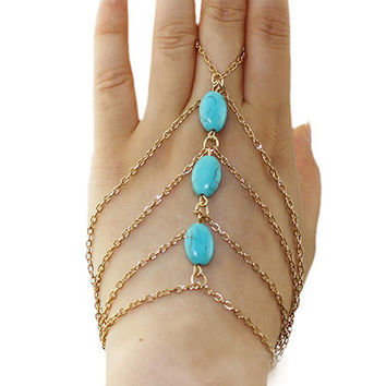 Bohemian Style Bangle Slave Chain Link