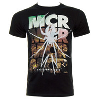 MY CHEMICAL ROMANCE DESERT SPIDER T SHIRT (BLACK)