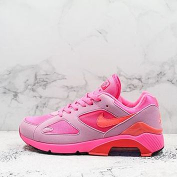 Comme Des Garcons X Nike Air Max 180 Cdg Pink/solar Red-pink Rise - Best Deal Online