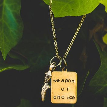 Weapon of Choice Necklace