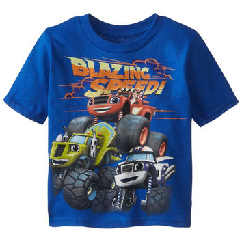Blaze and the Monster Machines - Blazing Speed Juvy T-Shirt
