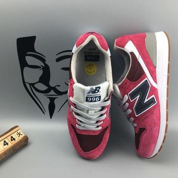 ONETOW cxon new balance nb996 retro breathable red for women men running sport casual shoes sneakers