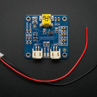 USB LiIon/LiPoly charger [v1.2] ID: 259 - $12.50 : Adafruit Industries, Unique & fun DIY electronics and kits