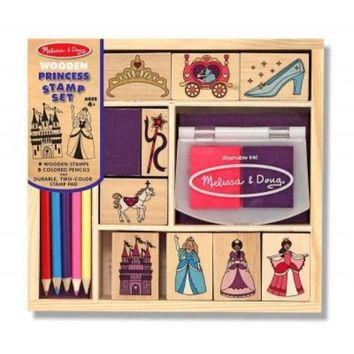 Wooden Princess Stamp Set NOV TOY