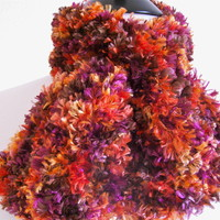 Colorful  Knitted Scarf Annesknits