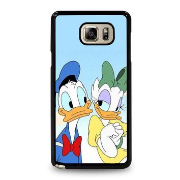 DONALD AND DAISY DUCK Disney Samsung Galaxy Note 5 Case Cover
