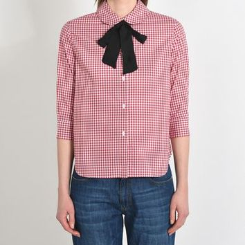 GEORGE J. LOVE Checked shirt - Shirts D | YOOX.COM