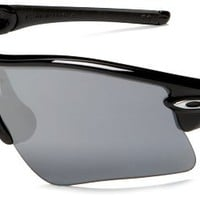 Oakley Men's Radar Range Iridium Polarized Sunglasses