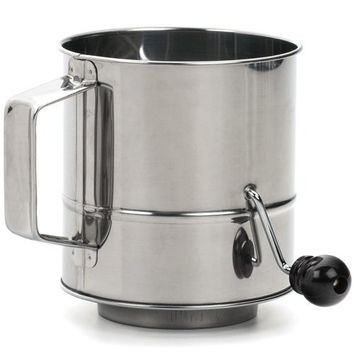 Endurance® Crank Style Flour Sifter – 3 cup