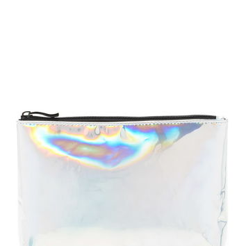 Metallic Makeup Bag | Forever 21 - 1000203075