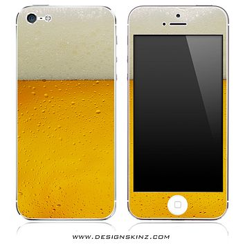 Foaming Beer iPhone Skin