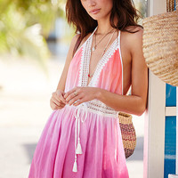 Crochet-trim Cover-up Dress - Victoria's Secret