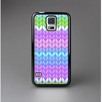 The Bright-Colored Knit Pattern Skin-Sert Case for the Samsung Galaxy S5