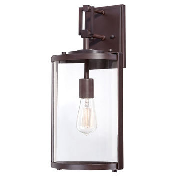 Ladera 1-Light Outdoor Wall Mount, Large, Outdoor Wall/Sconces